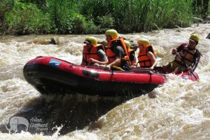 White water rafting tour in Chiang Mai Northern Thailand