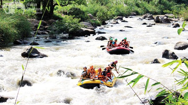 White water rafting in Chiang Mai Thailand