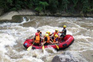 whitewater rafting thailand
